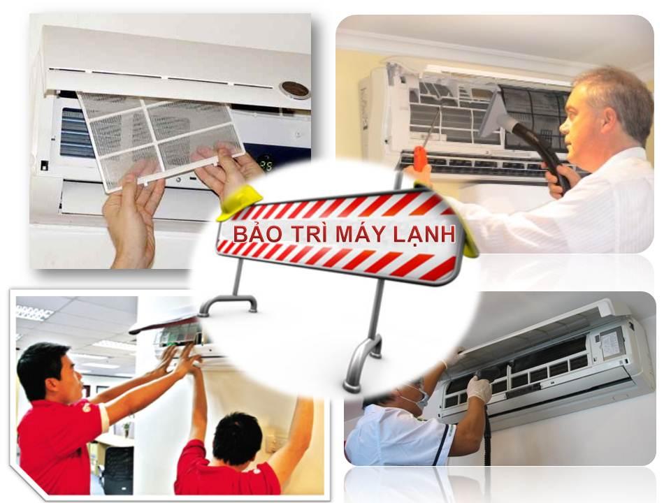 Bảo trì vệ sinh máy lạnh chuyên nghiệp
