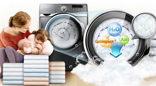 Khắc phục máy giặt trào bọt