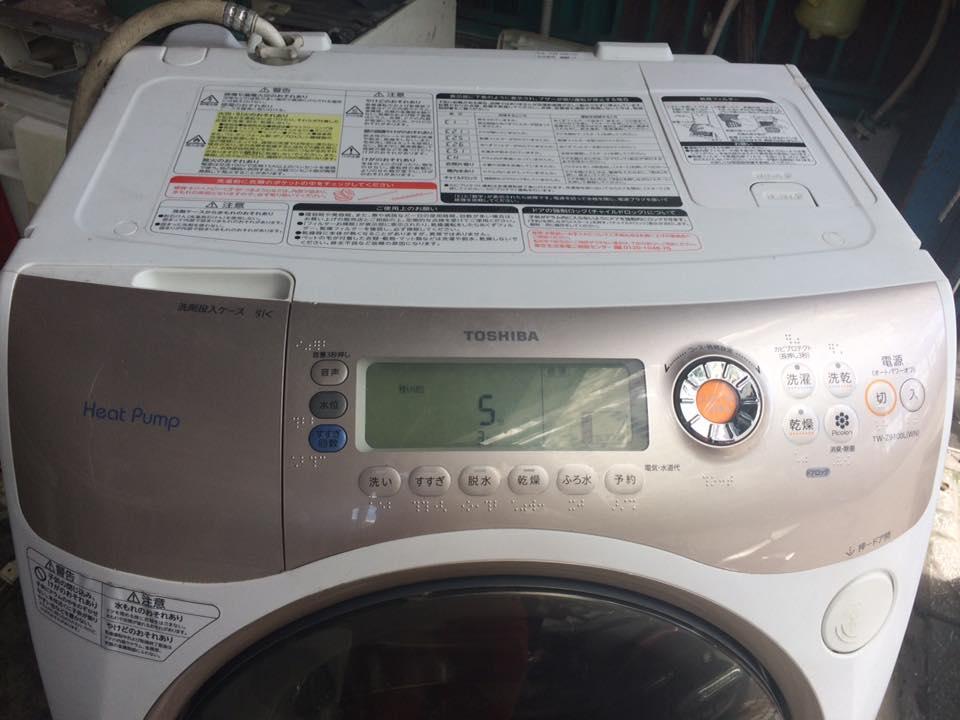 Mã lỗi máy giặt Toshiba nội địa nhật