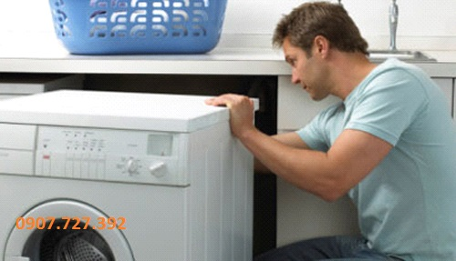 Máy giặt bị rung lắc