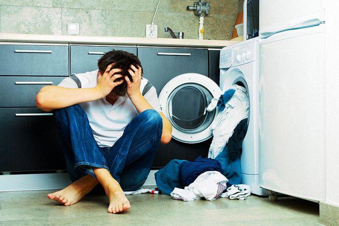 Máy giặt đang giặt bị ngưng hoạt động - nguyên nhân và cách sửa chữa