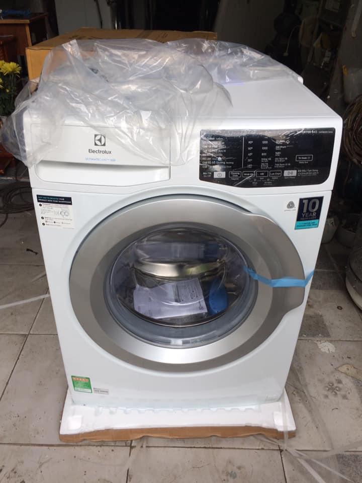 Máy giặt Electrolux EWF 8025CQWA (8kg) Inverter mới 100%