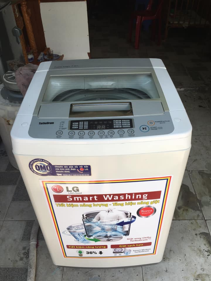 Máy giặt LG (7.6kg) WF-S7617PS