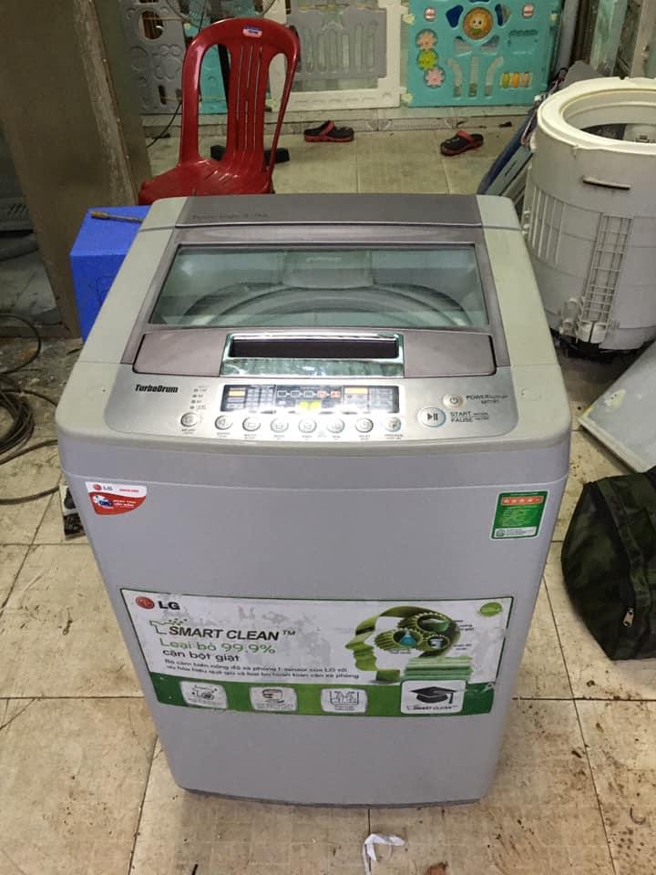 Máy giặt LG (8kg) WF-S8019MS