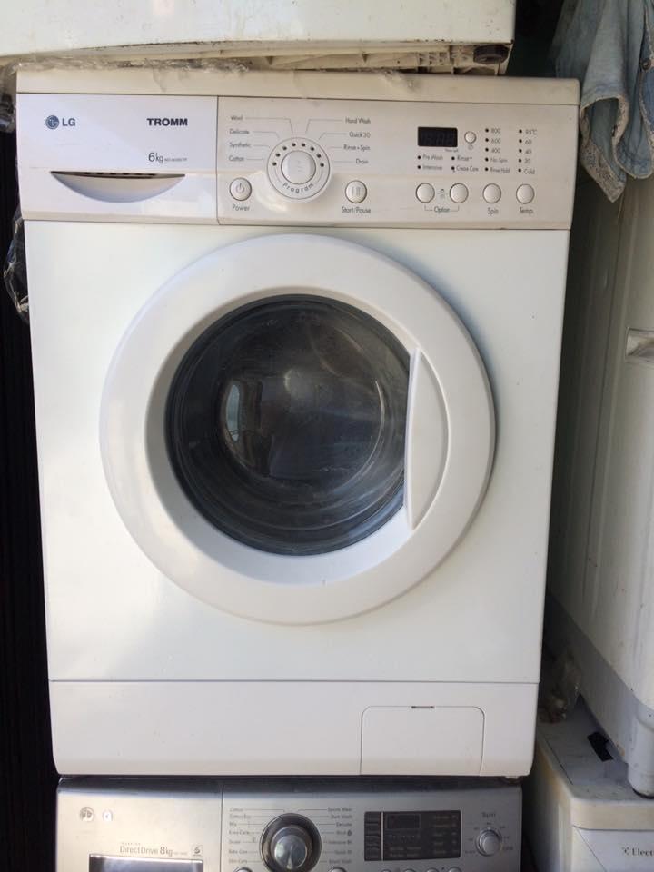 Máy giặt LG 6.kg lòng ngang mới 90%