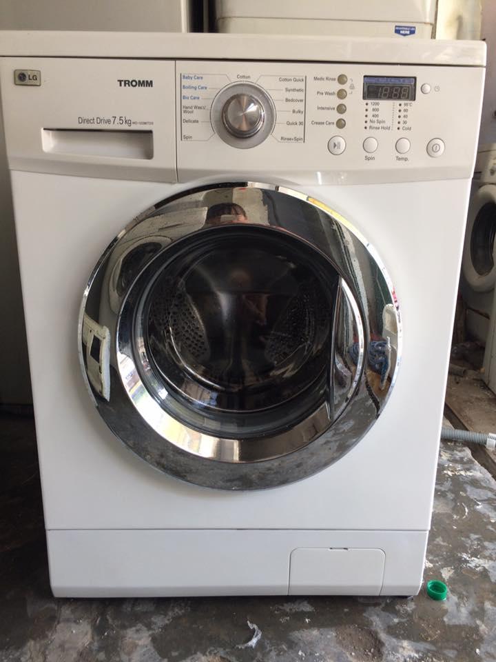 Máy giặt Lg WD-12390TDS 7.5 kg mới 90%
