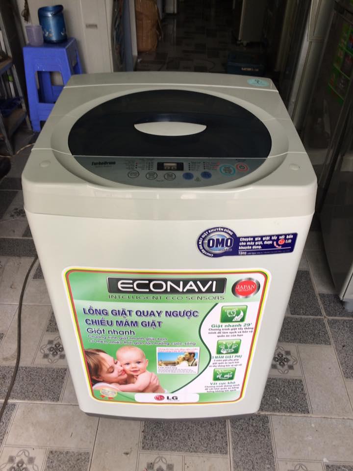 Máy giặt LG WF-A7613BC 7,6kg lòng inox không rỉ