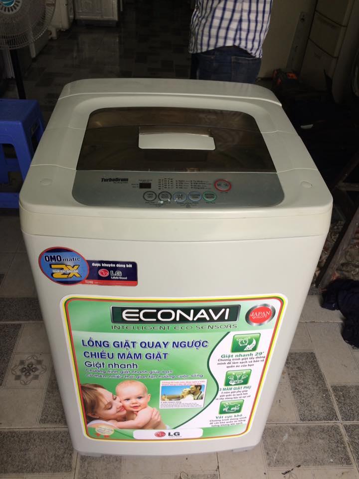 Máy giặt LG WF-C6515T 6,5kg lòng inox không rỉ