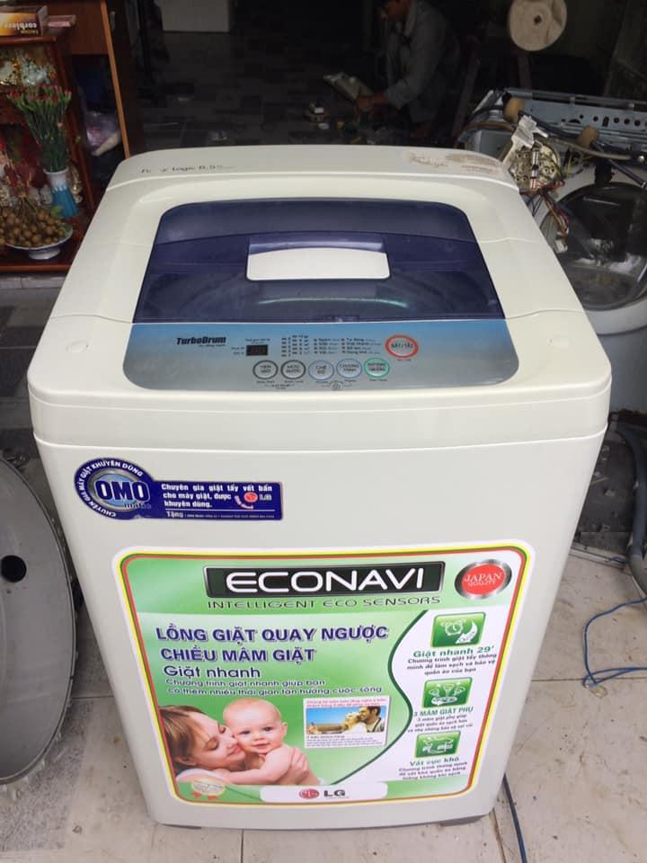 Máy giặt LG WF-C6516T 6.5kg lòng inox không rỉ