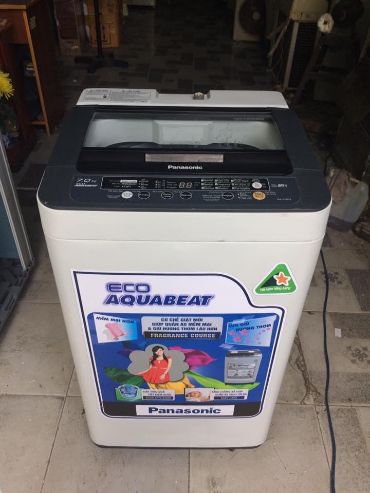 Máy giặt Panasonic NA-F70H3 (7kg) lòng inox không rỉ