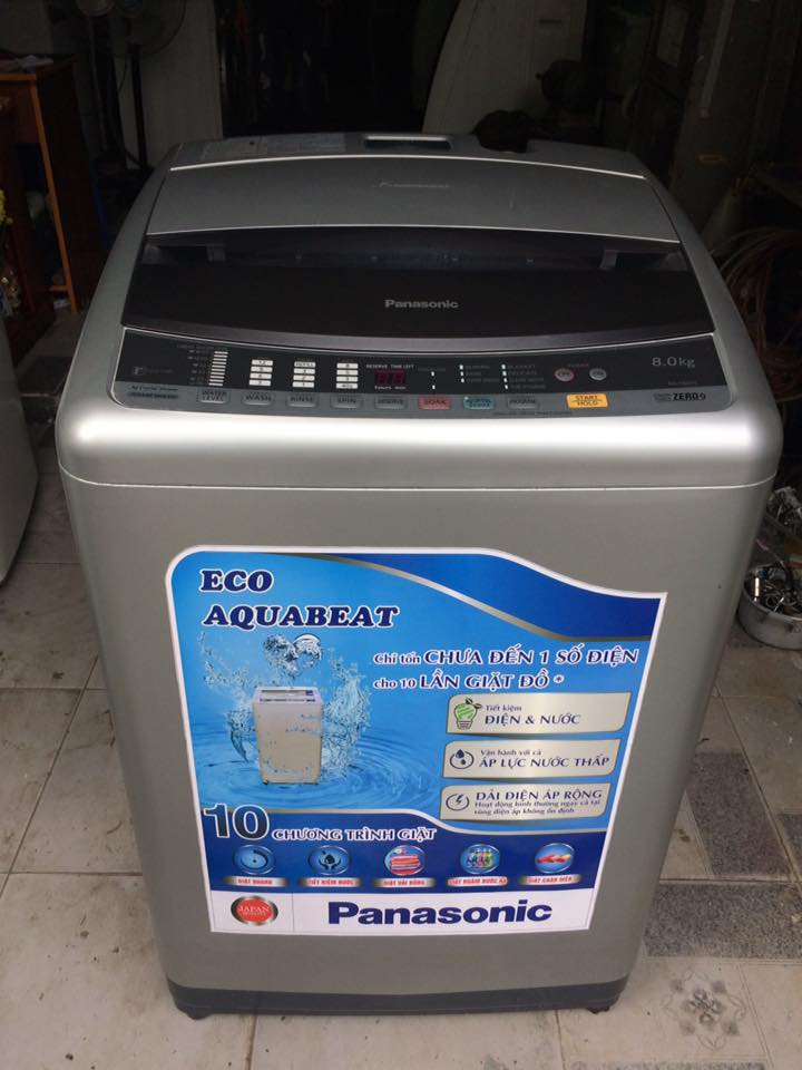 Máy giặt Panasonic NA-F80H1 8kg mới 95%