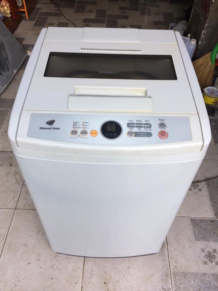 Máy giặt Samsung 6,5kg lòng inox không rỉ mới 90%