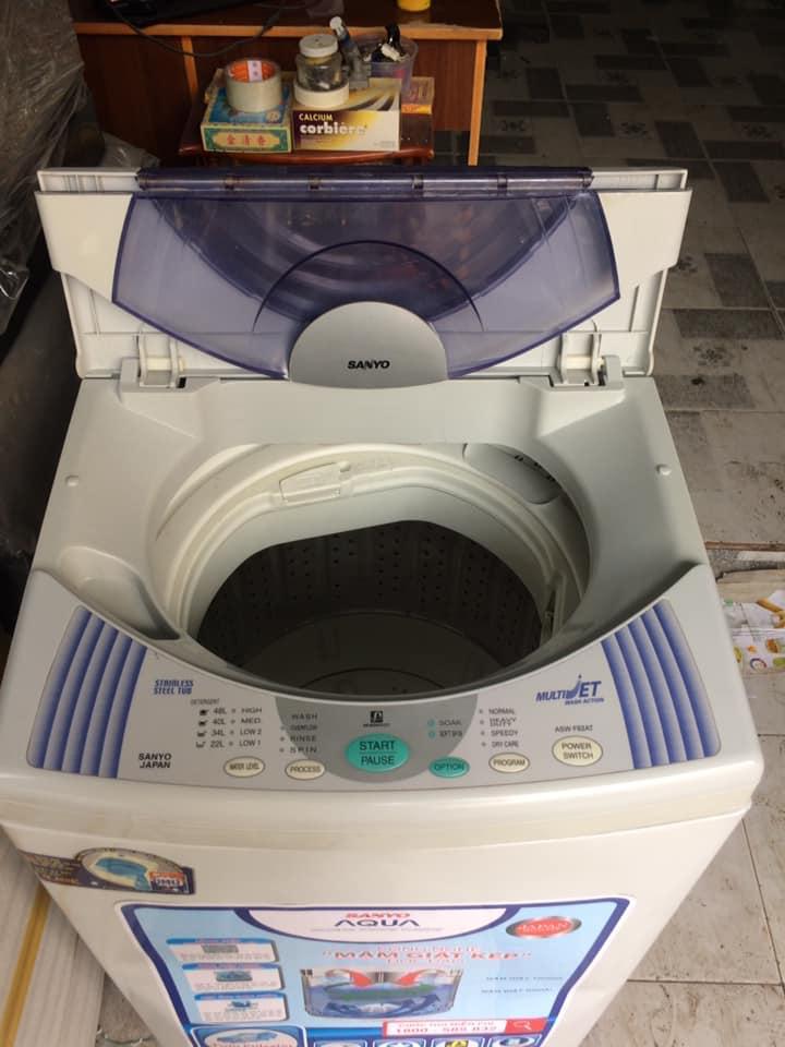 Máy giặt Sanyo (6.5kg) lòng inox không rỉ