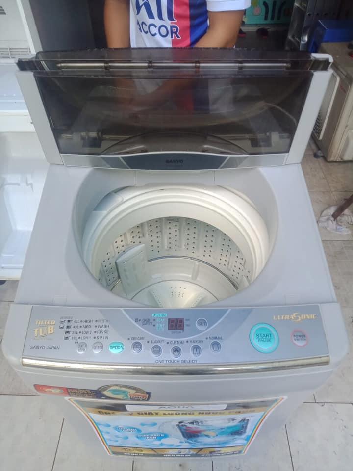 Máy giặt Sanyo (6.5kg) lồng nghiêng