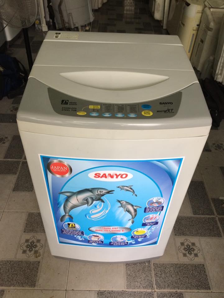 Máy giặt Sanyo 6.5kg lòng inox không rỉ