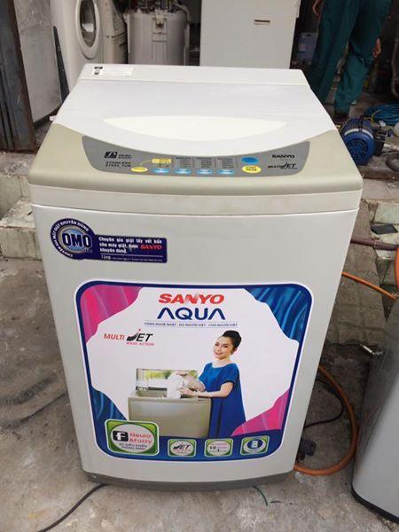 Máy giặt Sanyo 6,5kg lòng inox không rỉ