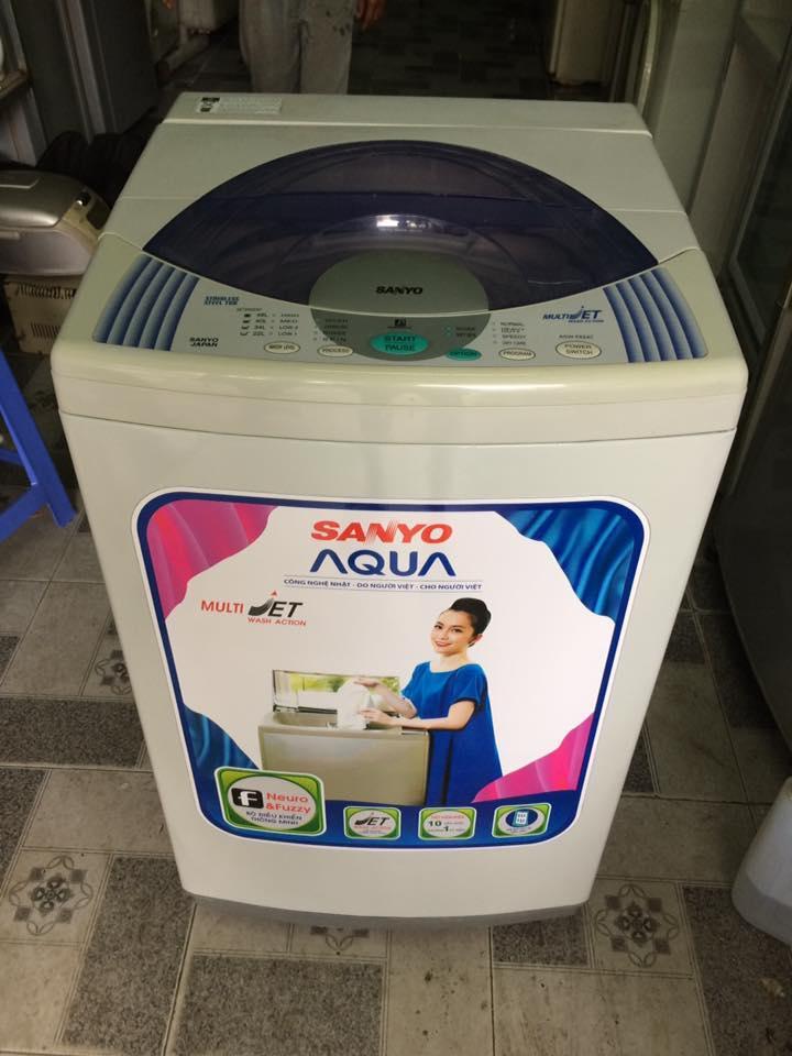 Máy giặt Sanyo 6,5kg mới 90%