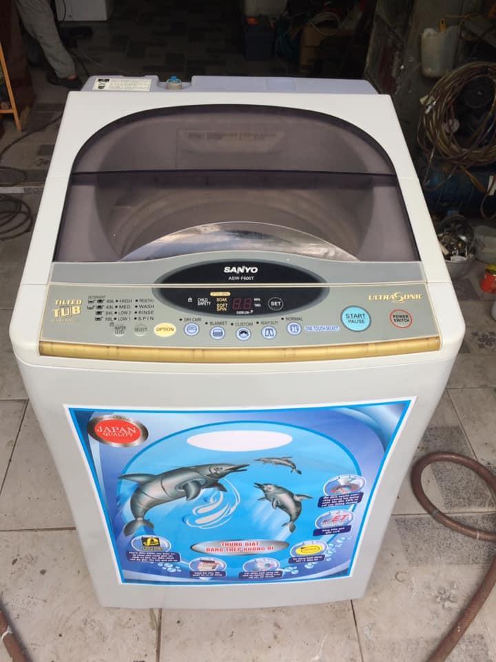 Máy giặt Sanyo Asw-F600T (6.0kg) lồng nghiêng