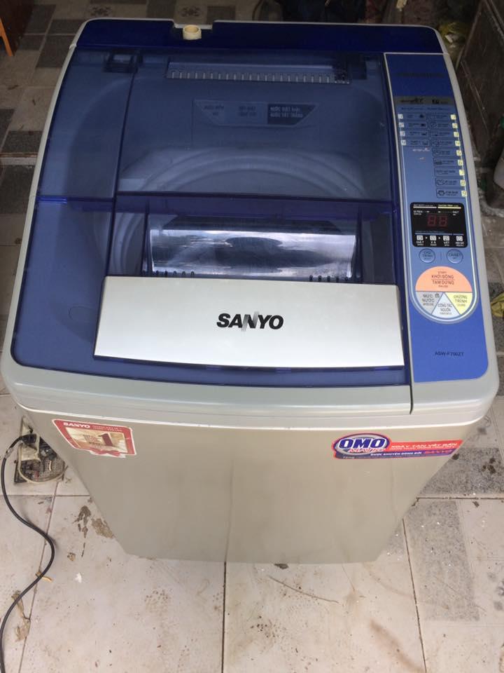 Máy giặt Sanyo Asw-F700ZT 7kg lồng nghiêng