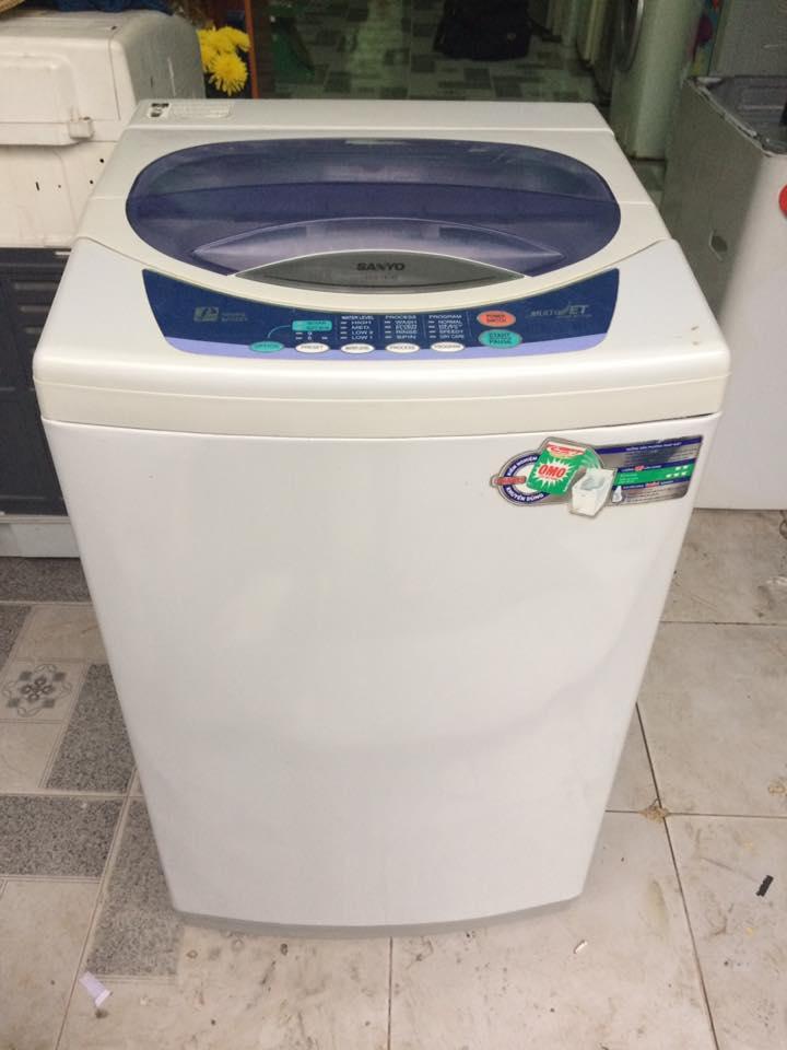 Máy giặt Sanyo ASW-F81AT 6,5kg lòng inox không rỉ