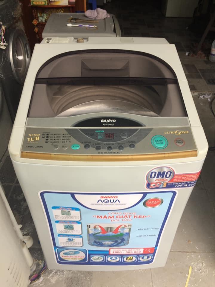 Máy giặt Sanyo Asw-U600T (6,5kg) lồng nghiêng