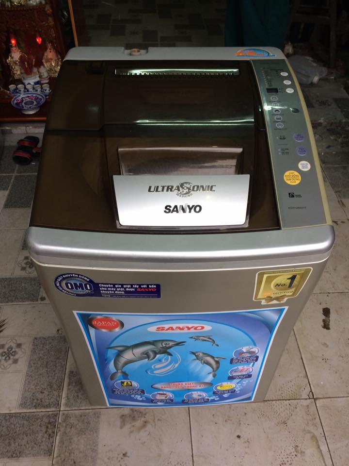 Máy giặt Sanyo Asw-U680HT 6.8kg lồng nghiêng
