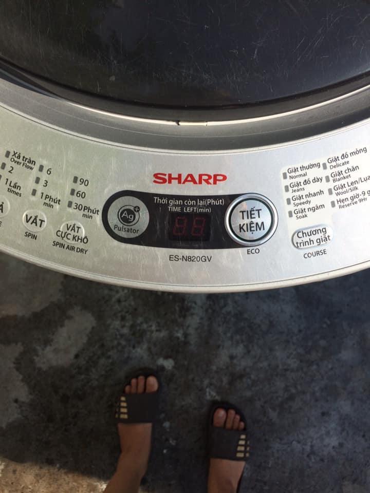 Máy giặt Sharp ES-N820GV-H (8.2kg)