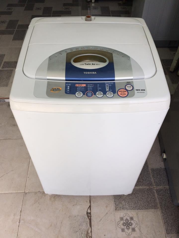 Máy giặt Toshiba 6,5 kg lòng inox không rỉ