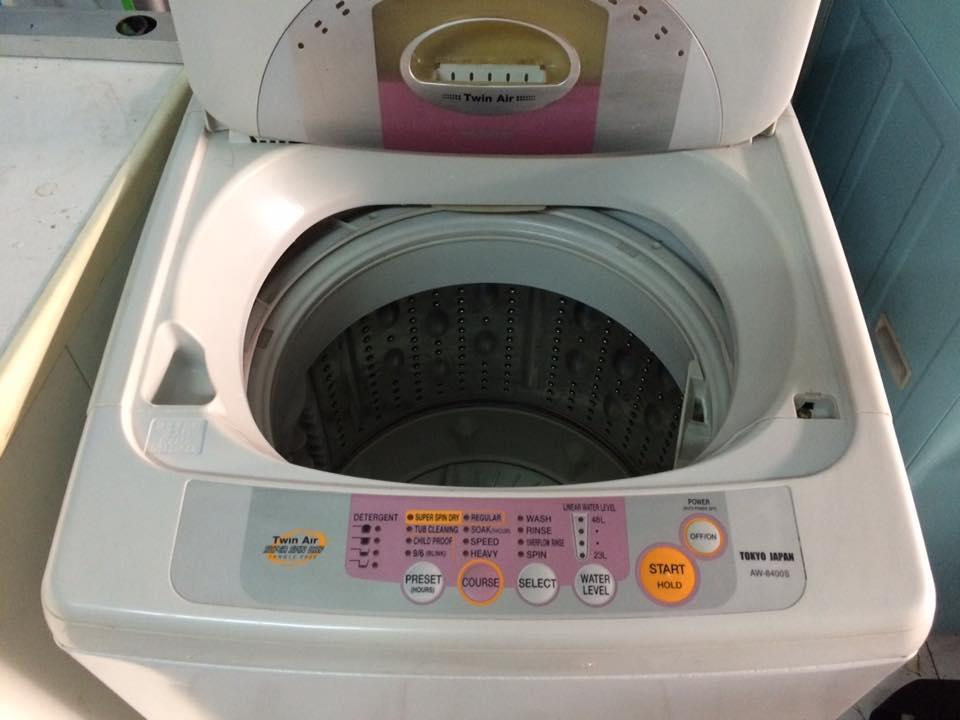 Máy giặt Toshiba 6.5kg lòng inox không rỉ