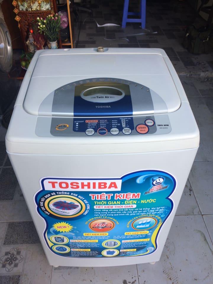 Máy giặt Toshiba Aw-8400S (6.5kg) lòng inox không rỉ
