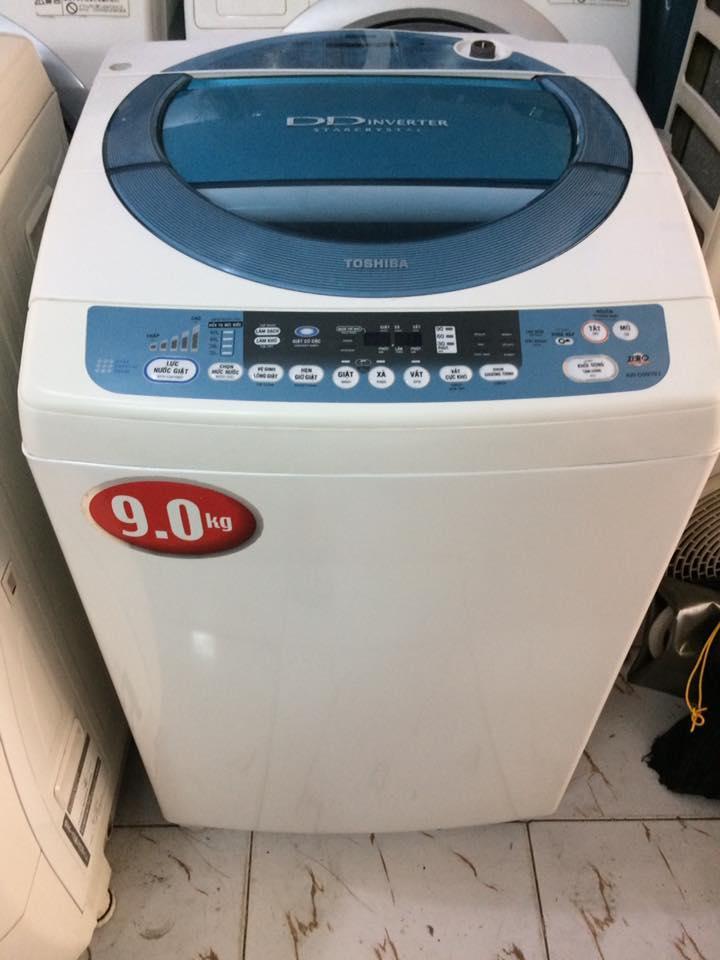 Máy giặt Toshiba AW-D990SV 9kg lòng inox không rỉ