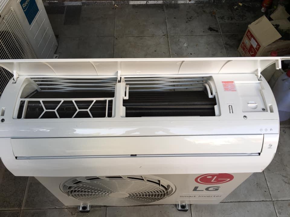 Máy lạnh LG (1HP) tiết kiệm điện mới 95%