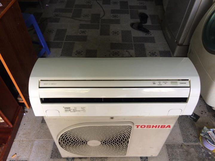 Máy lạnh Toshiba RAS-10S2AX-V 1Hp mới 90%
