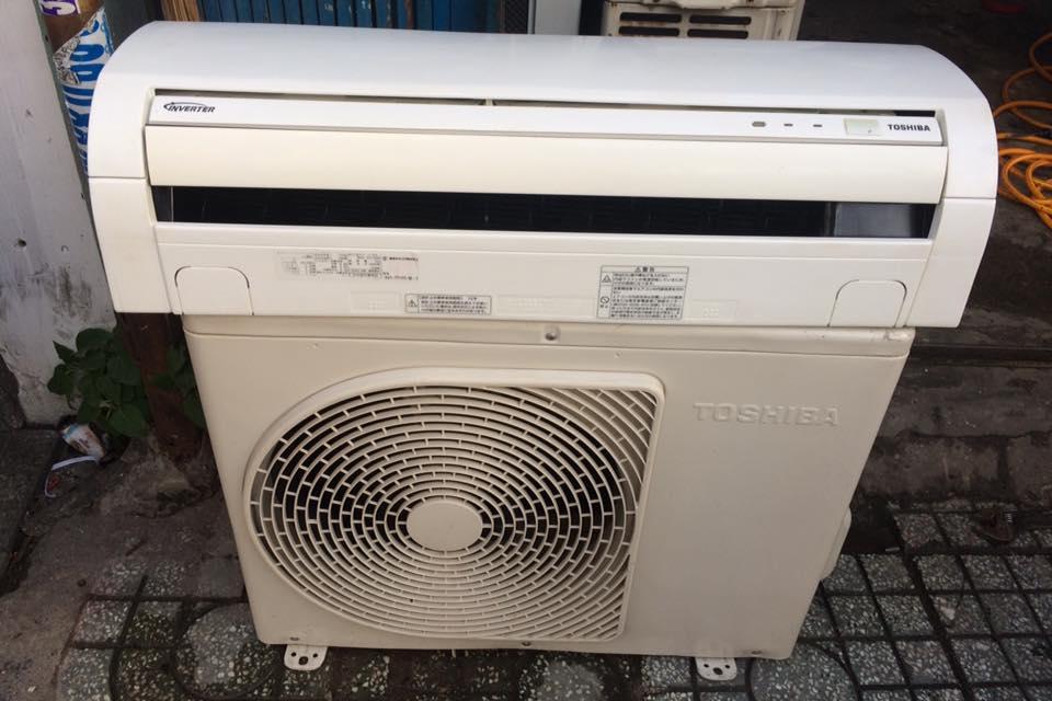 Máy lạnh Toshiba RAS-2217D - 1HP INVERTER tiết kiệm điện gas R410 mới 95%