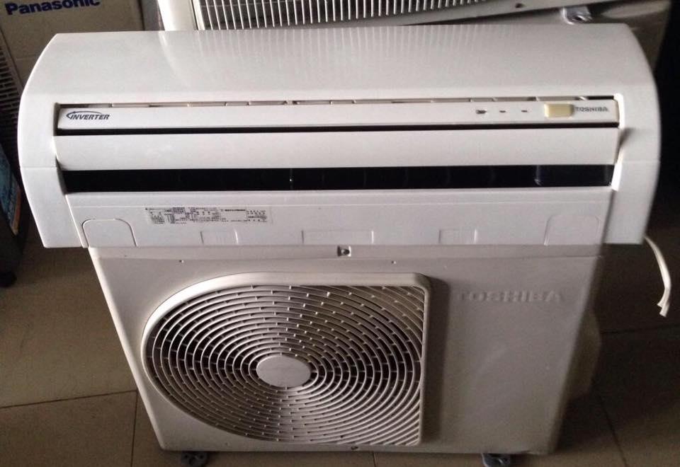 Máy lạnh Toshiba RAS-2256D inverter 1hp tiết kiệm điện gas 410 mới 95%