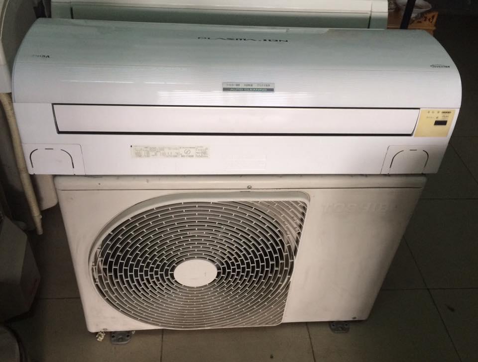 Máy lạnh Toshiba RAS-506GDR 2.5HP inverter tiết kiệm điện Gas R 410 MỚI 95%