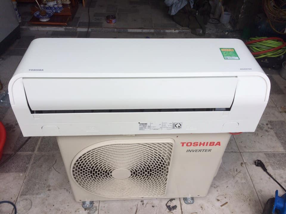 Máy lạnh Toshiba RAS-H13BKCV-V (1.5HP) Inverter mới 97%