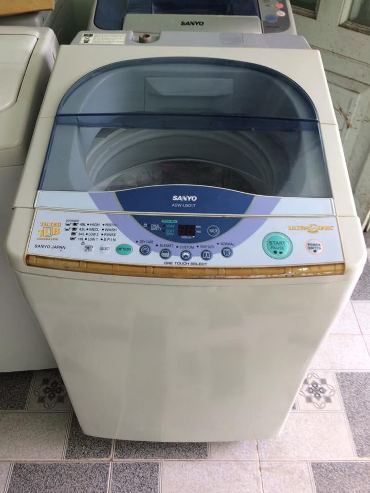 Mẹo vặt khi chọn mua máy giặt cũ