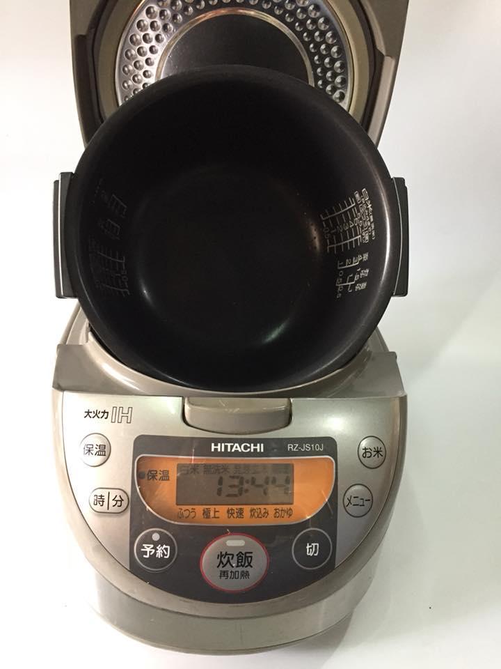 Nồi Cơm Điện cao tần IH Hitachi RZ-JS10J 1 lít  mới 95%