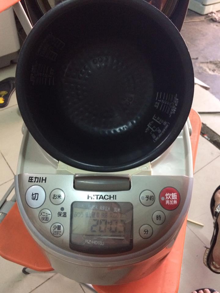 Nồi cơm điện cao tần IH Hitachi RZ-HD10J 1 lít Mới 95%
