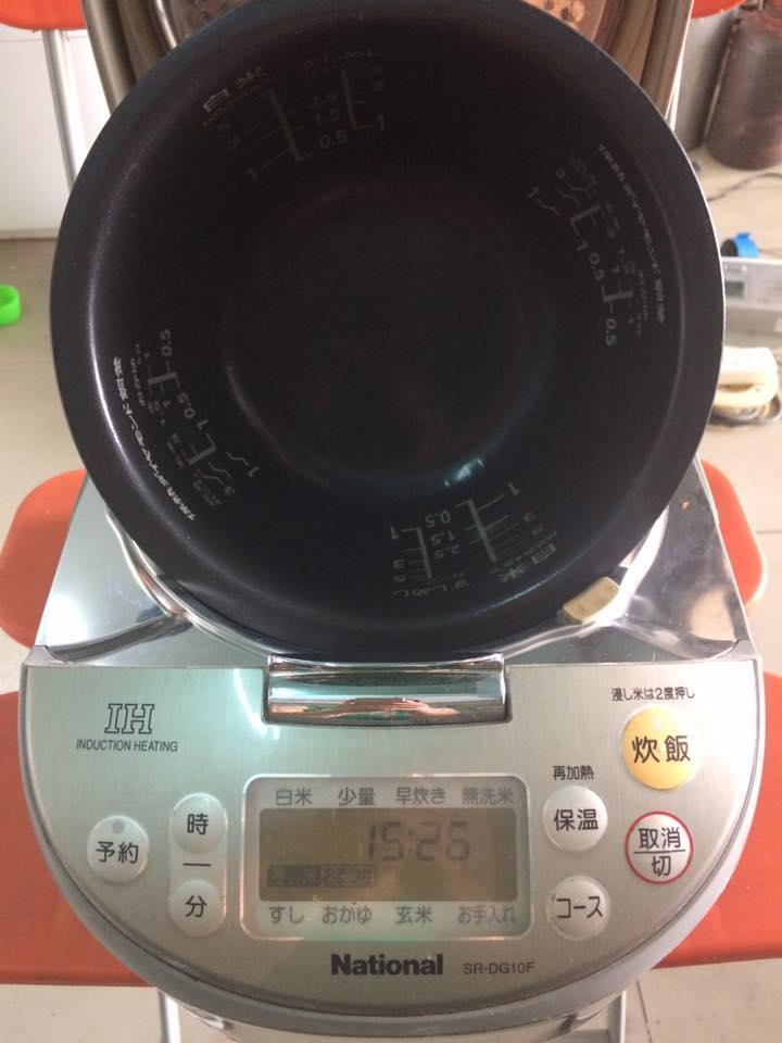 Nồi cơm điện cao tần IH NATIONAL SR-DG10F - 1L