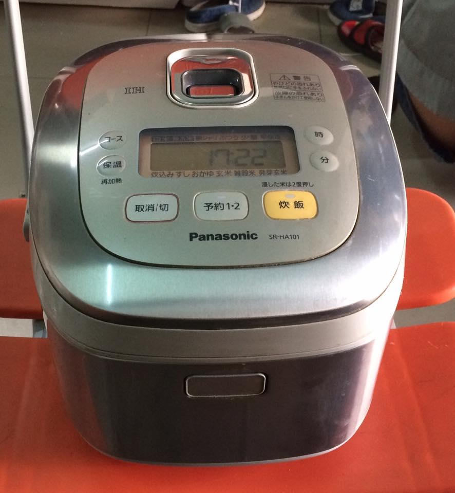 Nồi cơm điện cao tần IH PANASONIC SR-HA101 - 1 lít