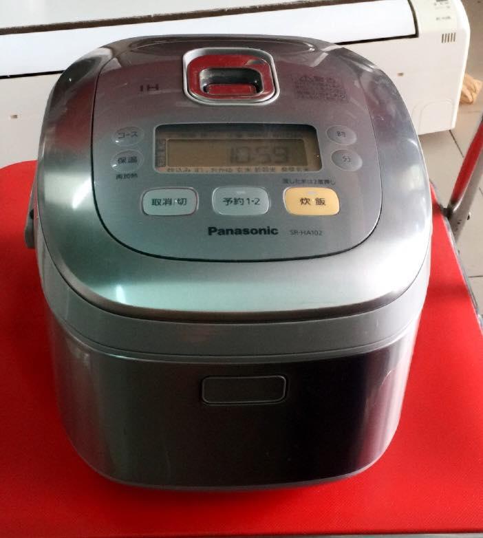 Nồi cơm điện cao tần IH Panasonic SR-HA102 - 1 lít Mới 95%