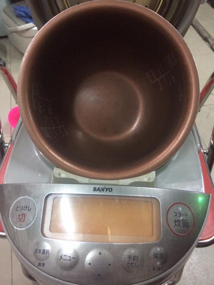 Nồi cơm điện cao tần IH SANYO 1L ECJ-JD10J6 áp suất 1 LÍT