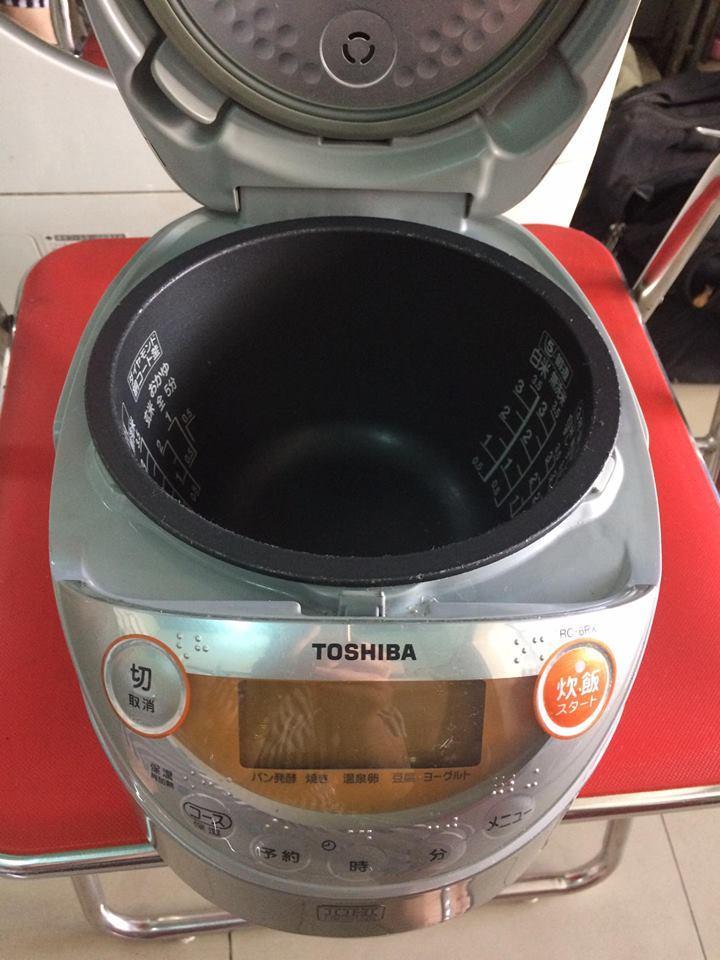 Nồi cơm điện cao tần IH Toshiba RC- 6RX 0,6L