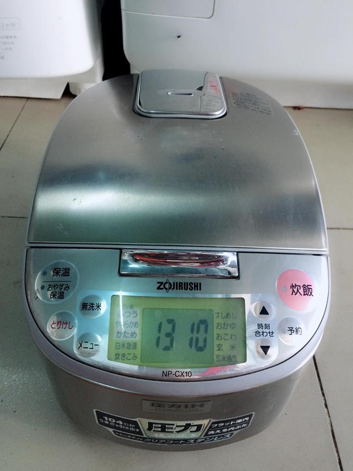 Nồi cơm điện cao tần IH ZOJIRUSHI NP-CX10 áp suất mới 95%