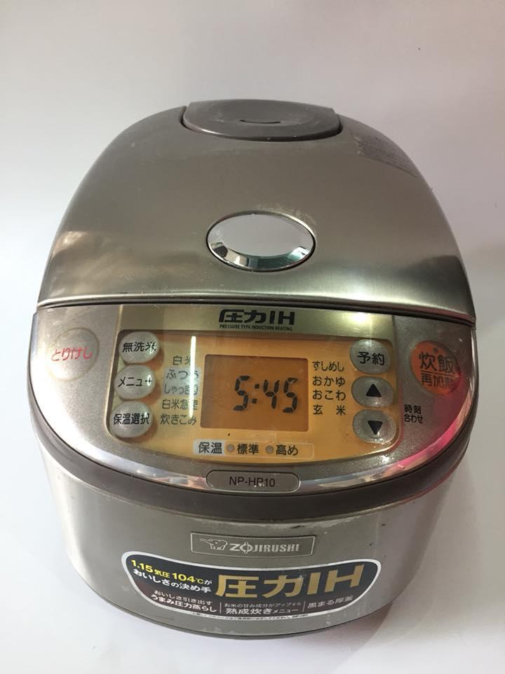 Nồi cơm điện cao tần IH Zojirushi NP-HP10- 1 lit áp suất Mới 95%