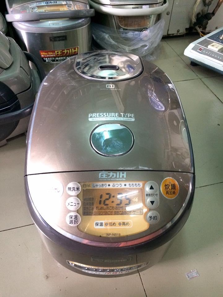 Nồi cơm điện cao tần IH Zojirushi NP-NB18 - 1,8 lit