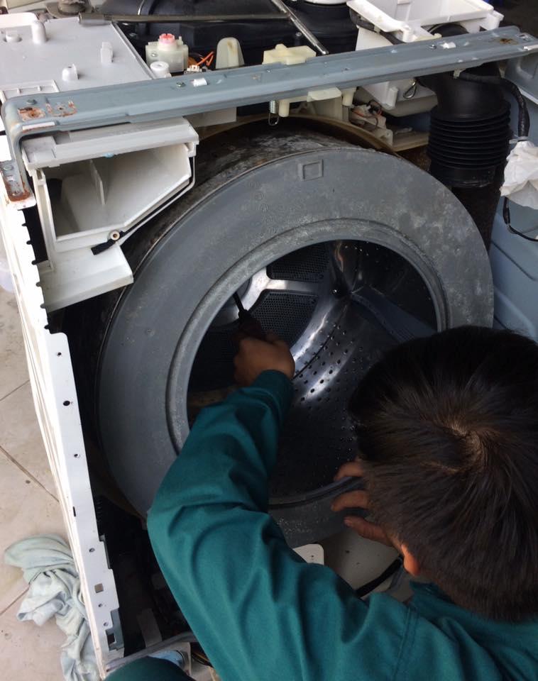 Sửa máy giặt nội địa nhật báo lỗi C21, E1,RA, EH, H,L,C,UC TPHCM