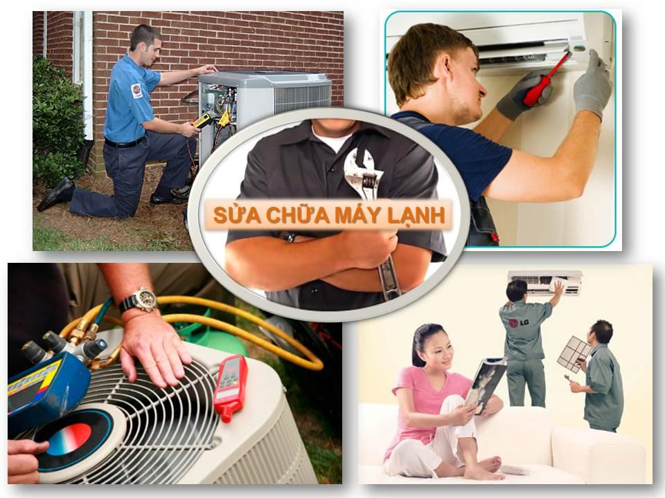 Sửa máy lạnh quận Gò Vấp |vệ sinh bơm ga máy lạnh giá rẻ